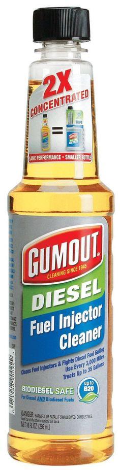 GUMOUT - 2X DIESEL FUEL INJECTOR CLEANER 6 Oz