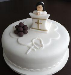 Bolos para Batizado | Marina Borges Londrina Cupcakes e Bolos Decorados