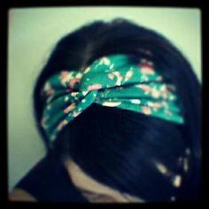 DIY Retro Twisted Headband