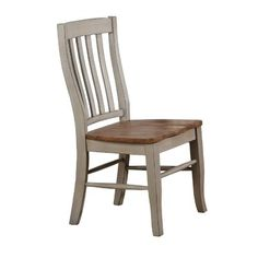 Three Posts Courtdale Solid Wood Dining Chair (Set of Finish: Almond / Gray Dining Room Table Chairs, Leather Dining Room Chairs, Solid Wood Dining Chairs, Dining Arm Chair, Kitchen Chairs, Upholstered Dining Chairs, Cheap Furniture, Home Furniture, Furniture Outlet