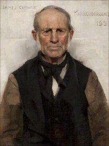 "James Guthrie - The Glasgow Boys ""Old Willie"""