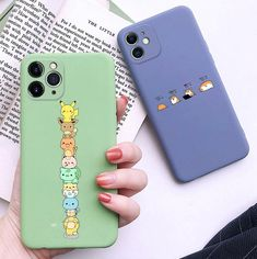 Lovely Pokemon Phone Case for iphone max - Polarreut kamaras bemalung Rollschuhe und Airpods - Cute Cases, Cute Phone Cases, Iphone Phone Cases, Disney Phone Cases, Iphone Case Covers, Pokemon Phone Case, Kawaii Phone Case, Diy Phone Case, Iphone 11 Pro Case
