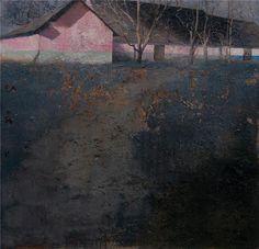 Matteo Massagrande(Italian, b.1959) Fattoria nella Puszta