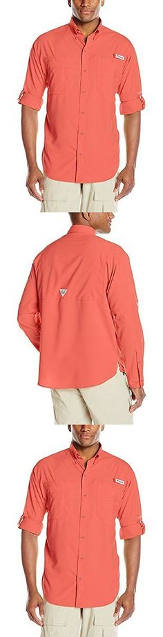Shirts Tops and Sweaters 181361: Columbia Men S Tamiami Ii Long Sleeve Shirt Sunset Red Xx-Large -> BUY IT NOW ONLY: $46.58 on eBay!