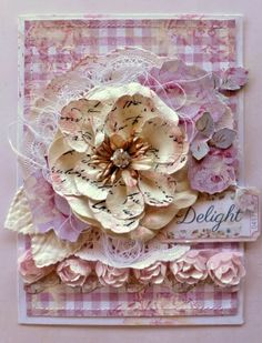 Card from Guest Designer Cathy Cafun using the January Kit.