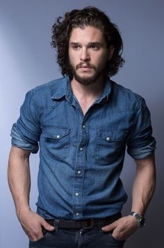 My angel. My god. My Kit. #kitharington