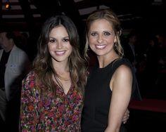 Sarah Michelle Gellar and Rachel Bilson at CW Summer TCA Party