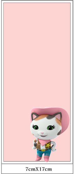Sherif Callie: Imprimibles Gratis para Fiestas. Cumple Sheriff Callie, Sheriff Callie Birthday, Sheriff Callie Characters, Sherif Callie, Sheriff Callie's Wild West, Oh My Fiesta, Ideas Para, Hello Kitty, Disney Characters