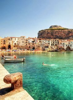 Cefalu, Italy. Our tips for 25 places to visit in Italy: http://www.europealacarte.co.uk/blog/2012/01/12/what-to-do-in-italy/