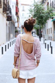 WhatsTrend Blog » Open Back Sweater