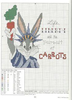 bugs Bunny statua della libertà