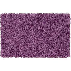 Nourison Polypropylene Shag Rug In Pink Or Aqua