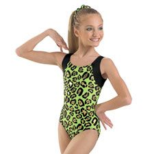 Wild Thing! Leopard Print Tank Gymnastic Leotard by Balera