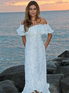 Makamae hawaiian naniloa dress | Hawaiian Dresses | Pinterest ...