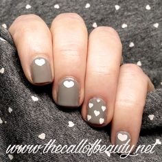 The Call of Beauty: ABC Challenge: Faint of Heart by Orly stamped