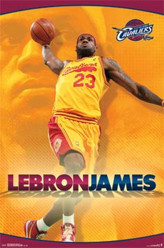 Cleveland Cavaliers - Lebron James 2014 | NBA | Sports | Hardboards | Wall Decor | NHL | NFL | MLB | Billiards | Baseball | Basketball | Boxing | Racing | Soccer | Golf | Wrestling | Pictures Frames and More | Winnipeg | Manitoba | MB | Canada
