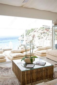 Amante, Sol den Serra, Ibiza. Great for lunch or drinks, amazing location!