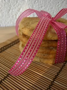 Cookies with Caramlized Apple Pieces