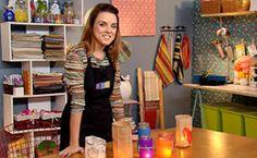 Como fazer lamparinas coloridas: veja passo a passo do 'Decora' - Dicas - Casa GNT, adorei essa ideia
