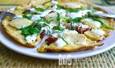 Omlet z Porami i Kozim Serem on http://www.kulinarnyprzepisna.pl