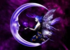 Violet moon and a fairy
