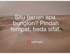 New Quotes Indonesia Sindiran Ideas Quotes Sahabat, Quotes Lucu, Cinta Quotes, Quotes Galau, Mood Quotes, Daily Quotes, Funny Quotes, Life Quotes, Funny Memes