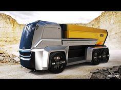 Car Design Sketch, Truck Design, Futuristic Cars, Futuristic Design, Ev Truck, Future Trucks, Road Train, Design Theory, Best Luxury Cars