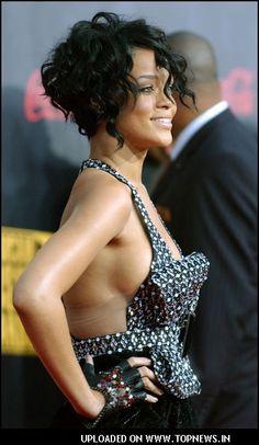 Rihanna at American Music Awards 2007