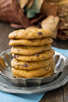 Soft and Chewy Pumpkin Chocolate Chip Cookies Healthy Food Blogs, Healthy Recipes, Pumpkin Chocolate Chip Cookies, Fall Desserts, Sweet, Candy, Healthy Eating Recipes, Healthy Food Recipes, Clean Eating Recipes