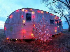 christmas trailer house