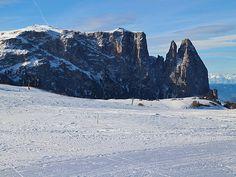 Skifahren in Südtirol: Seiser Alm