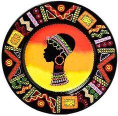 (Africa) African art, quilt on cotton fabric. African Art Paintings, African Artwork, African Quilts, Afrique Art, African Theme, African American Art, Tribal Art, Mandala Art, Female Art