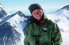 UK:  Alison Hargreaves (1963-1995); Mountaineer -  The first woman to climb Everest alone and without oxygen, Hargreaves was killed attempting to climb K2, one of the world's most inhospitable mountains. By facing down criticism from those who said a mother should not put herself in danger, she made it easier for the next generation of women explorers.