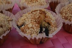 ¡¡Muffin de arándano!! - Blueberry muffin ;) Recipe in the link of photo