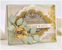 beautiful vintage card by Debbie Olson