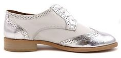 Ladies-Women-Real-Genuine-Leather-Low-Heel-Lace-Up-Brogue-Shoes-Office-Work-Size