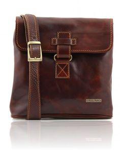 6e29a05c71664 ANDREA TL9087 Leather Crossbody Bag - Borsello in pelle a tracolla Leather  Crossbody Bag, Leather