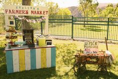Evelynn's Farmer's Market 1st Birthday Party