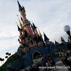 How beautiful is Sleeping Beauty's castle? #disneylandparis #wanderreal #iseefrance #travelblogger #disney