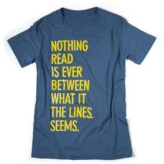 T-shirt met opdruk.