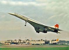 Concorde de BA despegando