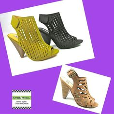 Stacked heels are hot - and not just for boots. These two styles are new arrivals and are extremely popular. Come in and try these beauties on. 1334 N Military Trail, WPB #WestPalmBeach #ThePalmBeaches #WPBshopping #fashionista #LakeWorth 