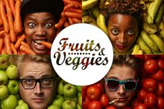 Fruits and Veggies by Kevin Goss-Ross, via Behance
