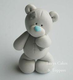 Tatty teddy fondant topper