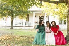 Gown from #GlitzNash @GlitzNash (Adam Sanner Photography) (Hair Kyle Kressin; MUA Tara Thomas; Models Grace, Ashley, and Olivia) (Wilson Family Farm, Tennessee) http://glitznashville.com