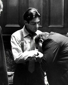 """Great men are not born great, they grow great."" - ""The Godfather"" (1972)"