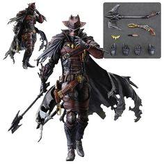 DC Comics Batman Timeless Wild West Variant Play Arts Kai Action Figure