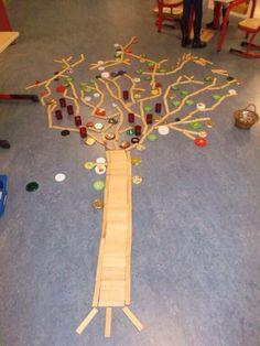 Een boom van Kapla