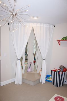 Every little girl needs a stage in their playroom!