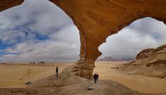 Fotografía: Puente en Wadi Rum Autor: Miguel Alonso Viaje a Jordania